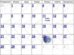 Лунный календарь на апрель 2016 года на стрижку