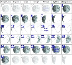 Календарь стрижки и окраски на сентябрь 2016