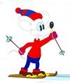 Новый год белой мыши